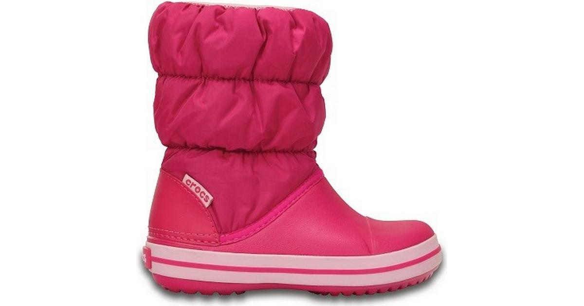 Crocs Kid's Winter Puff Boot Candy Pink