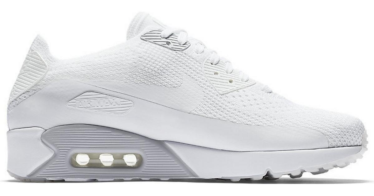 Nike Air Max 90 Ultra Essential White �?Se priser (2