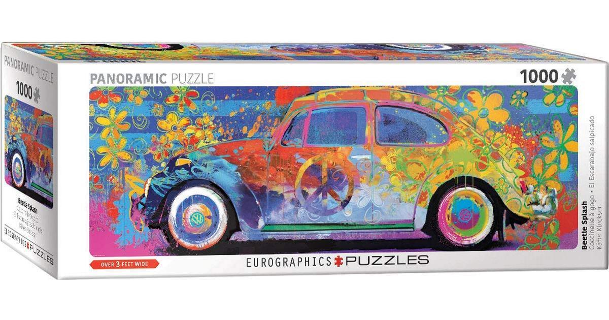 VW Beetle Splash /& Kombination Jigsaw Puzzles Bundle 1000 pcs Panoramic Eurographics