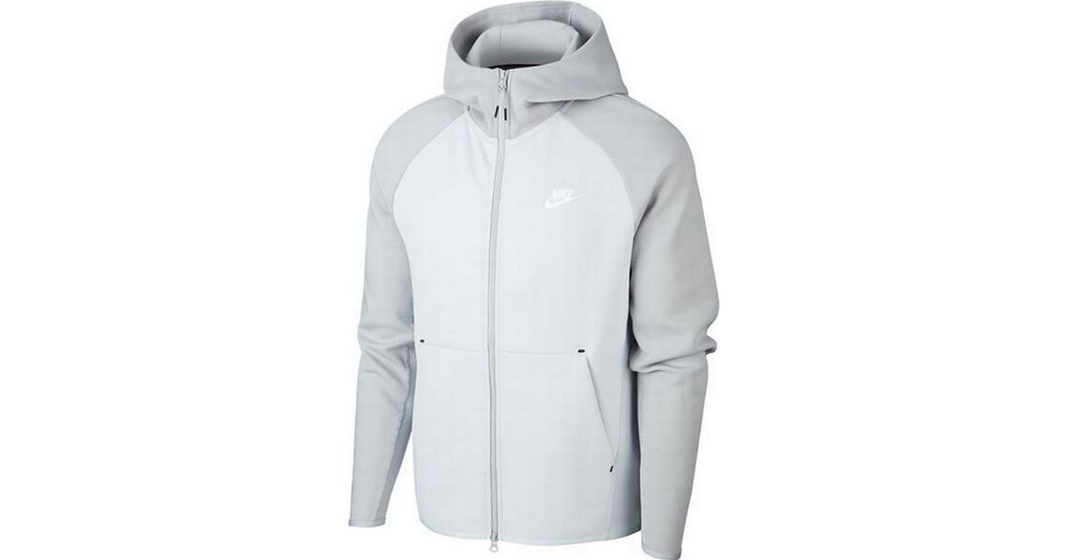 Nike Tech Fleece Full Zip Hoodie Men Pure PlatinumLight Solar Flare HeatherWhite Hitta bästa pris, recensioner och produktinformation på