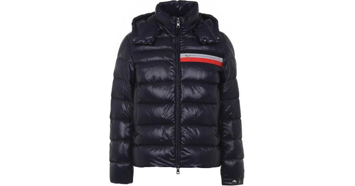 Moncler Cevenne Down Jacket Dark Blue • Se priser (3