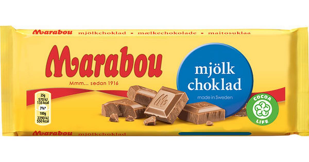 kalorier 100 g choklad