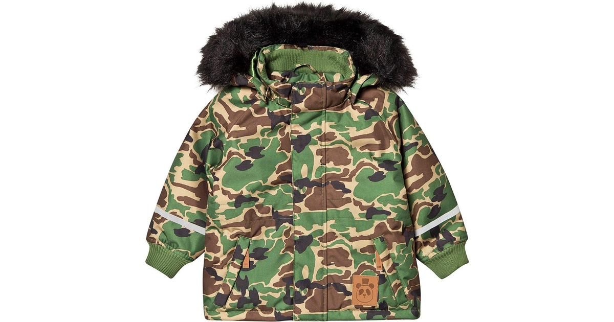 Mini Rodini K2 Camo Parka Green
