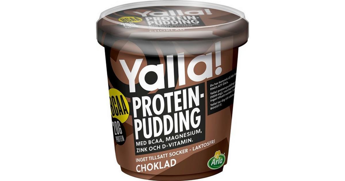 protein pudding innehåll