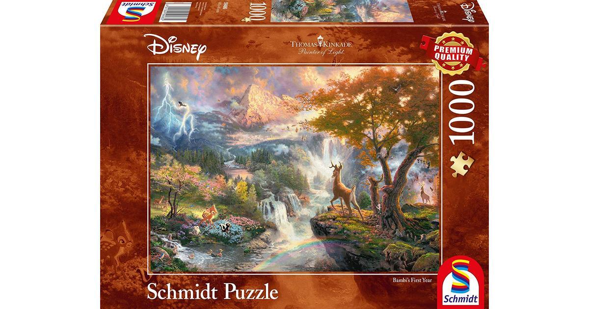 Thomas Kinkade Disney Bambi 1000 Piece Jigsaw