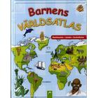 Barnens världsatlas: kontinenter, länder, sevärdheter (Inbunden, 2015)