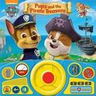 Paw Patrol - Pups & the Pirate Treasure Steering Wheel Book (Inbunden, 2015)
