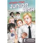 Attack on Titan: Junior High 2 (Häftad, 2014)