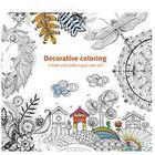 Målarbok Decorative Coloring