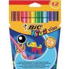 Bic Kids Visa Felt-Tip Color Pen 12-pack