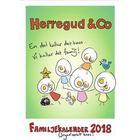 Herregud & Co. Familjekalender 2018 (Spiral, 2017)
