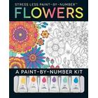 Stress Less Paint-by-number Flowers (Pocket, 2017)