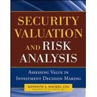 Security Valuation and Risk Analysis (Inbunden, 2010)