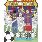 Messi, Neymar, Suarez and F.C. Barcelona: Soccer (Futbol) Coloring Book for Adults and Kids (Häftad, 2017)