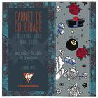 Clairefontaine Målarbok för vuxna 20x20 cm Rock'n'Roll
