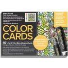Chameleon Målarbok Color Cards Mirror Images