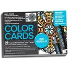 Chameleon Målarbok Color Cards Mini Mandalas
