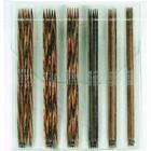 KnitPro Strumpstickor Trä Set 2 - 4,5 mm 6 storlekar