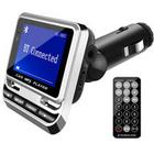 Car MP3 Player Dual Port LED Screen Remote Control TF Card Suppo