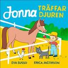 Jonna träffar djuren (Board book, 2018)