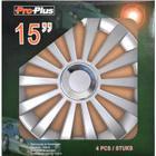 PROPLUS Hjulsidor set Meridian 15 tum 4 stycken i försäljningslåda 310842S