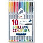 Staedtler Triplus Fineliner Color Pen 334 0.3mm 10 Pack
