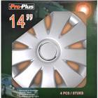 PROPLUS Hjulsidor set Aura 14 tum 4 stycken i försäljningslåda 310816S