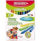 Colorito Fiberpennor 12-set - Fibracolor