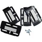 Hållare för registreringsskylt HP Autozubehör Simple-Fix Plast Svart