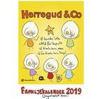 Herregud & Co. Familjekalender 2019 (Spiral)
