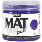 Acrylic MAT pub 140ml C.Violet
