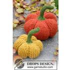 The Patch by DROPS Design - Pumpa Halloween Stickbeskrivning