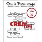 Clear Stamps Crealies - Bits & Pieces - Open Bricks Medium