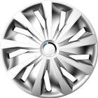 Navkapslar set Grip Pro 15 tum silver