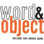 Word and Object (Häftad, 1960)