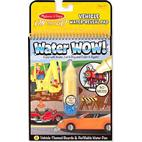 Melissa & Doug Water Wow! Vehicles On the Go Travel Activity
