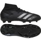 Adidas Predator Mutator 20.1 Firm Ground Cleats - Core Black/Core Black/Silver Metallic