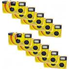 Novocolor Disposable Cameras with Flash 10 Pcs