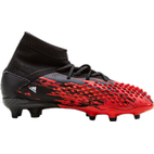 Adidas Predator Mutator 20.1 Firm Ground Cleats - Core Black/Cloud White/Active Red