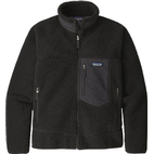 Patagonia Classic Retro X Fleece Jacket - Black w/Black