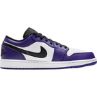 Nike Air Jordan 1 Low M - Court Purple/White/Hot Punch/Black