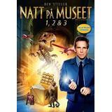 Muséet Filmer Natt på museet 1-3 Box (DVD 2015)