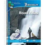 Atlas kartor Böcker Nordamerika Atlas Michelin 2015 A4: Varierande Skalor (Spiral, 2014)