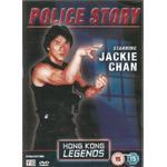 Jackie chan dvd Filmer Police Story - Starring Jackie Chan - Hong Kong Legend
