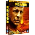 Die Hard 4.0 Filmer Die Hard Quadrilogy - Die Hard/Die Hard 2/Die Hard With A Vengeance/Die Hard 4.0 (8 Disc edition)