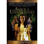 Alice i underlandet blu ray Filmer Alice i Underlandet (DVD 1999)