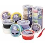 Hobbymaterial Silk Clay Assorted Colors Clay 22-pack