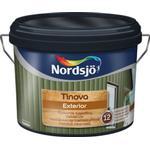 Målarfärg Nordsjö Tinova Exterior Träfasadsfärg Vit 10L