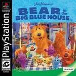 PlayStation 1-spel Bear in the Big Blue House (Nalle Har Ett Stort Blått Hus)