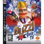 Buzz quiz tv PlayStation 3-spel Buzz!: Quiz TV (incl. Buzzers)